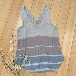 Anthropologie Bordeaux Lissie soft tank top, S.